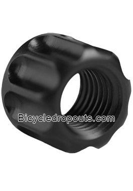 BD-s1, S1,Thru axle, nut, M12x1.0 mm,M12x142mm,Bicycledropouts, bolt, bolts, bouten, steekas, moer,DTswiss,Sram,Shimano,Bout voor bevestiging DT Swiss/Sram/Shimano 12x142mm axle - M12x1 threading Lock nut for DT Swiss/Sram/Shimano 12x142mm axle - M12x1 t