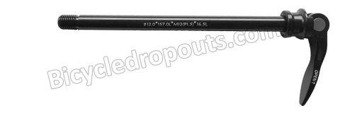 BDTA - 012 - 173,5mm*ø12*M12x1.5*TL16,5 - Thru axle - Steekas - Flanders CX500