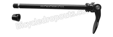 BDTA - 014 - 175mm*ø12*M12x1.5*TL13.5 - Thru axle - Steekas - Flanders