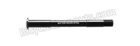 BDTA-104,123mm*ø12*M12x1.5*TL14,Thru axle,Steekas,Cannondale,Maxle L123