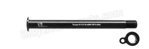 BDTA-106,138mm*ø12*M12x1.5*TL15,Thru axle,Steekas,Axe traversant