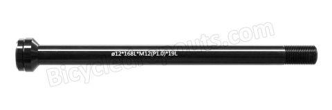 BDTA-110,168mm*ø12*M12x1.0*TL19, Thru axle, Steekas, Axe traversant,Scott,DT Swiss,boost,X12,X-12