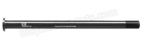 BDTA-111,175mm*ø12*M12x1.0*TL20,Thru axle, Steekas, Axe traversant,Scott,Santa Cruz,X12,X-12,boost