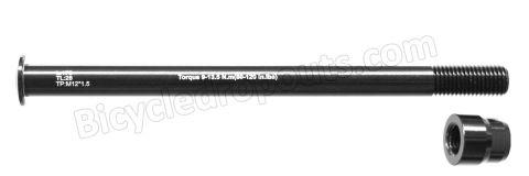BDTA-117,175mm*ø12*M12x1.5*TL28, Thru axle, Steekas, Axe traversant,flanders,148mm boost,