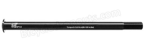 BDTA-120,185mm*ø12*M12x1.5*TL27, Thru axle, Steekas, Axe traversant, Rock Shox,RockShox