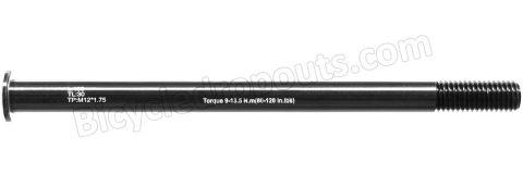 BDTA-124,183mm*ø12*M12x1.75*TL30, Thru axle, Steekas, Axe traversant,Niner,RKT 9 RDO,Trek,Supercaliber