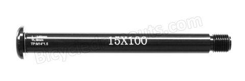 BDTA-128,145mm*ø15*M14x1.5*TL9, Thru axle, Steekas, Axe traversant,Fox,Racing Shox