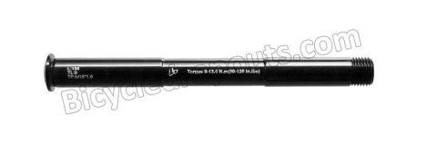 BDTA-131,158mm*ø15*M15x1.5*TL9,Thru axle,Steekas,Axe traversant,Rock Shox, SID, REBA, Revelation, Pike, boost, suspension forks