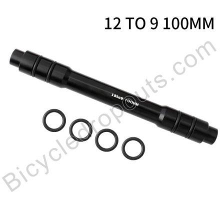 BDTA-530,Adaptor,12mm Thru Axle to 9mm Quick release, OLD: 100mm,Thru axle,Steekas,Axe traversant,12to9mm,12mmto9mm,12mm to 9mm,