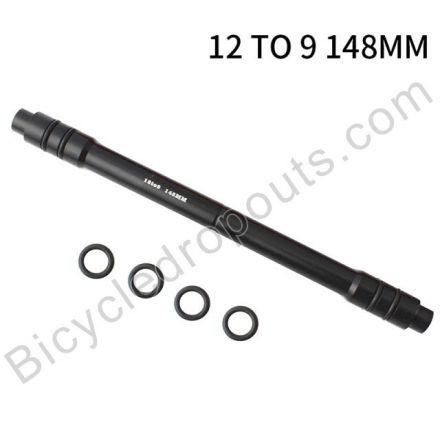 BDTA-533,Adaptor,12mm Thru Axle to 9mm Quick release, OLD: 148mm,Thru axle,Steekas,Axe traversant,12to9mm,12mmto9mm,12mm to 9mm,