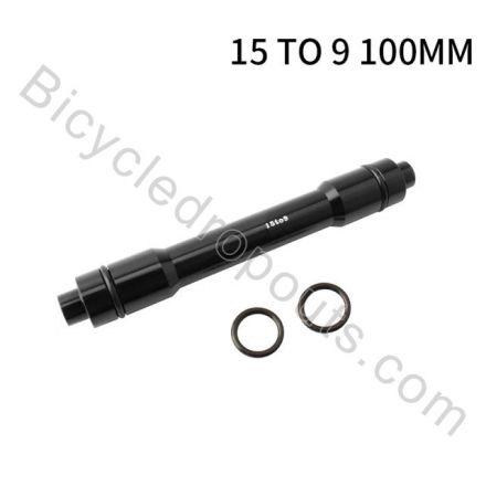 BDTA-534,Adaptor,15mm Thru Axle to 9mm Quick release, OLD: 100mm,Thru axle,Steekas,Axe traversant,15to9mm,15mmto9mm,15mm to 9mm,