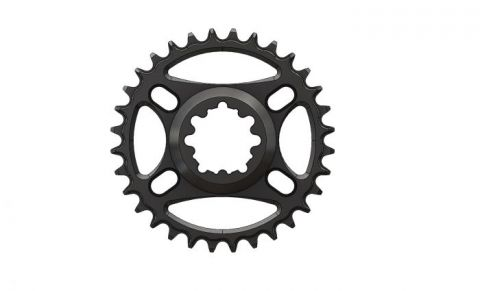 Pilo,Bicycledropouts,BD-c16,C16,34T,Narrow wide Chainring,Chainring for Sram direct dub Black Anodized,Tandwiel,kettingblad,plateau,plateaux