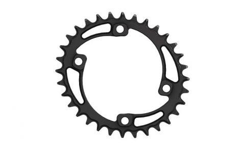 Pilo,Bicycledropouts,BD-c17,C17,32T,C,Narrow wide, Elliptic ,Chainring, 96bcd Asymmetric, Black Anodized,tandwiel,kettingblad,plateaux,plateau,tandwielen,kettingbladen,Shimano