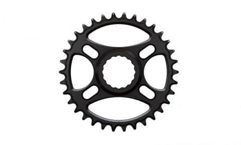 Pilo,Bicycledropouts,BD-c18,C18,34T, Narrow wide Chainring,Race Face direct,Black Anodized,Tandwiel,kettingblad,plateau,plateaux