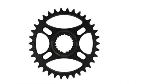 Pilo,Bicycledropouts,BD-c22,C22,34T, Narrow wide Chainring,Shimano direct,Black Anodized,Tandwiel,kettingblad,plateau,plateaux,tandwielen,kettingbladen