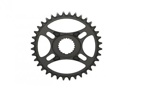 Pilo,Bicycledropouts,BD-c24,C24,36T, Narrow wide Chainring,Shimano direct,Black Anodized,Tandwiel,kettingblad,plateau,plateaux,tandwielen,kettingbladen
