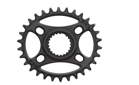 Pilo,Bicycledropouts,BD-c37,C37,30T,Narrow wide, Elliptic Chainring, Shimano Direct, Black Anodized,Tandwielen,Kettingbladen,kettingblad,plateau,plateaux,tandwiel