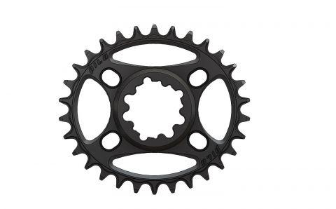 Pilo,Bicycledropouts,BD-c39,C39,30T,Narrow wide, Chainring, for Sram dub 3mm offset, Black Anodized,Tandwielen,Kettingbladen,kettingblad,plateau,plateaux,tandwiel